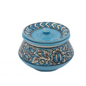 Ceramic handi with lid