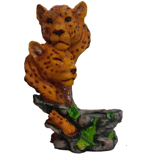 Tiger Face Decorative Showpiece