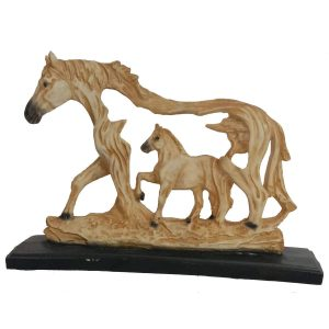 Tailos Polyresin Horse Statue Figurine