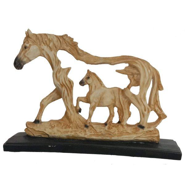 Tailos Polyresin Horse Statue Figurine